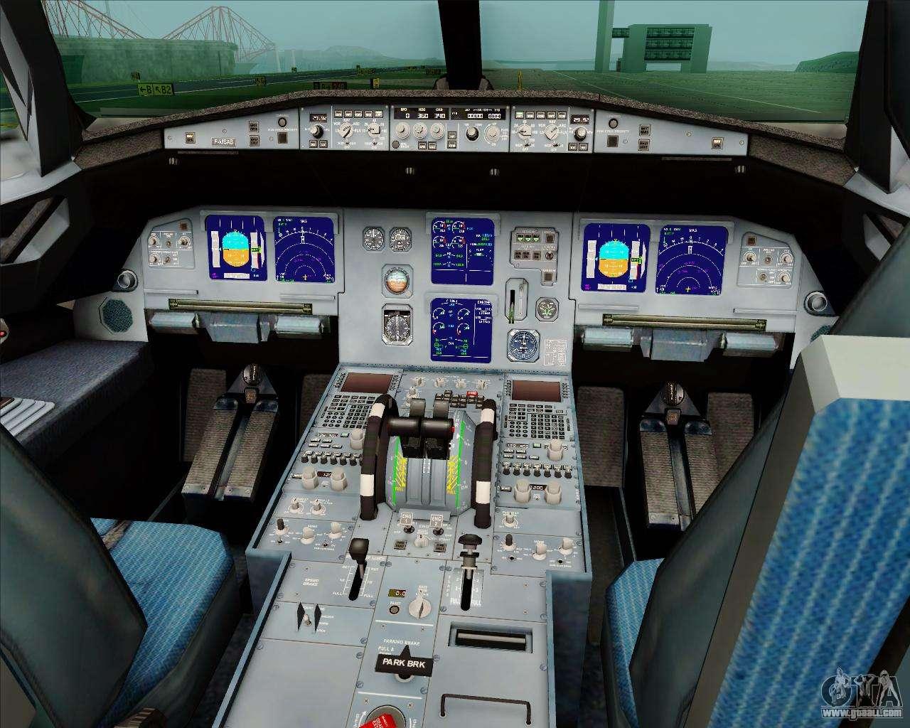 Airbus A321-200 Jetstar Airways for GTA San Andreas