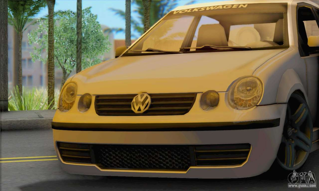 volkswagen polo for gta san andreas. Black Bedroom Furniture Sets. Home Design Ideas