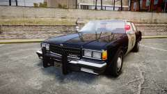 Chevrolet Caprice 1986 Brougham Police [ELS]