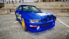 Subaru Impreza WRC 1998 Rally v3.0 Yellow