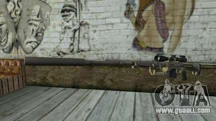 Sniper Rifle Cheytac M200 Intervention for GTA San Andreas