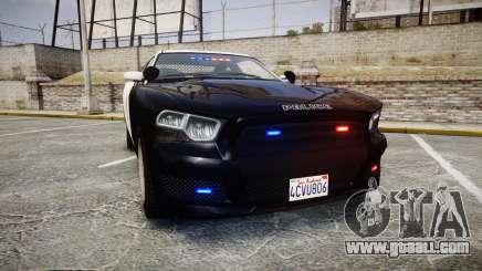 GTA V Bravado Buffalo LS Police [ELS] Slicktop for GTA 4