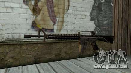 M16 from Beta Version for GTA San Andreas