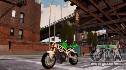 Kawasaki Ninja 636 Stunt for GTA 4