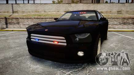 GTA V Bravado FIB Buffalo [ELS] for GTA 4