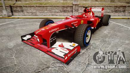 Ferrari F138 v2.0 [RIV] Massa TFW for GTA 4