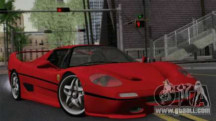 Ferrari F50 1995 Autovista for GTA San Andreas
