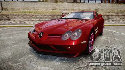 Mercedes-Benz SLR 722 2005 for GTA 4