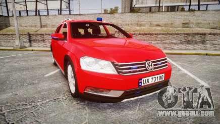 Volkswagen Passat 2014 Unmarked Police for GTA 4