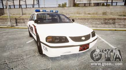 Chevrolet Impala 2003 Liberty City Police [ELS] for GTA 4