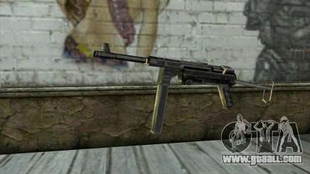 MP-40 from Day of Defeat for GTA San Andreas