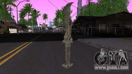 The same blade (FarCry 3) for GTA San Andreas