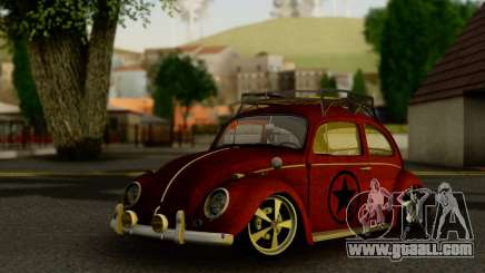 Volkswagen Fusca 1976 Rust Camber for GTA San Andreas