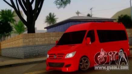 Mercedes-Benz Sprinter VIP for GTA San Andreas