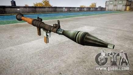 Handheld antitank grenade (RPG) for GTA 4