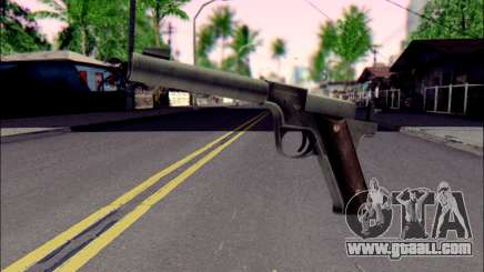 Silenced Pistol from Death to Spies 3 for GTA San Andreas