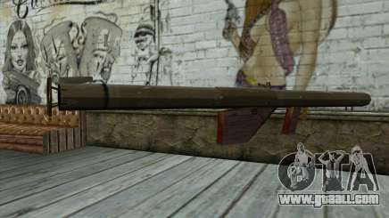 M1 Bazooka from Day of Defeat for GTA San Andreas