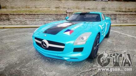 Mercedes-Benz SLS AMG v3.0 [EPM] Kotori Minami for GTA 4