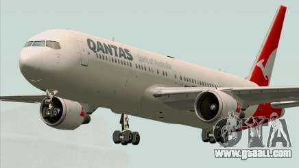 Boeing 767-300ER Qantas (New Colors) for GTA San Andreas