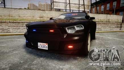 GTA V Bravado Buffalo Unmarked [ELS] Slicktop for GTA 4