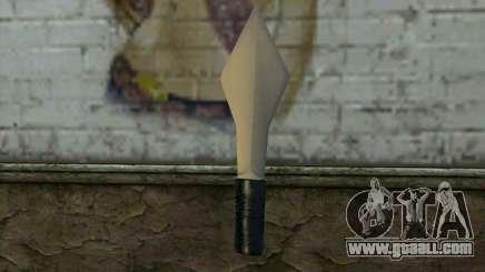 Knife from Cutscene for GTA San Andreas