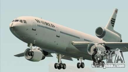 McDonnell Douglas DC-10-30 World Airways for GTA San Andreas