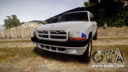 Dodge Durango 2000 Undercover [ELS] for GTA 4