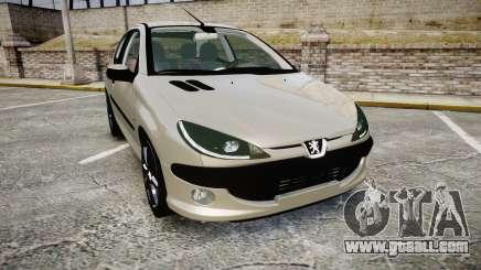 Peugeot 206 XS 1999 for GTA 4