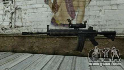 HK416 (Bump mapping) v2 for GTA San Andreas