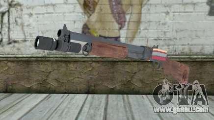 Shotgun from Primal Carnage v2 for GTA San Andreas