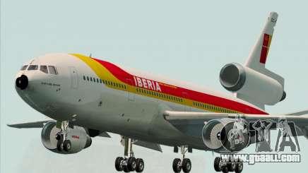 McDonnell Douglas DC-10-30 Iberia for GTA San Andreas
