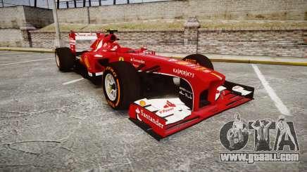 Ferrari F138 v2.0 [RIV] Massa THD for GTA 4