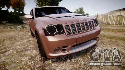 Jeep Grand Cherokee SRT8 rim lights for GTA 4