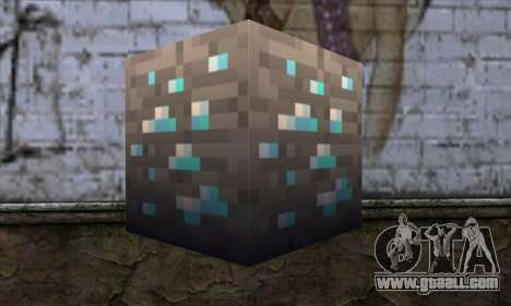 Block (Minecraft) v1 for GTA San Andreas second screenshot
