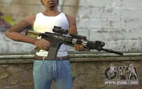 M4 MGS Aimpoint v2 for GTA San Andreas third screenshot