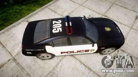 Bravado Buffalo Police LCPD for GTA 4 right view