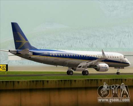Embraer E-190-200LR House Livery for GTA San Andreas right view