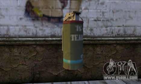 Smoke Grenade from GTA 5 for GTA San Andreas
