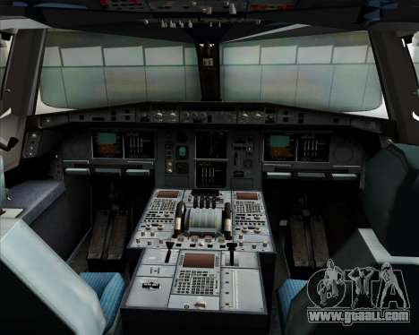 Airbus A380-800 Sichuan Airlines for GTA San Andreas interior