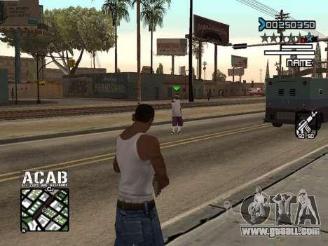 C-HUD by Edya for GTA San Andreas