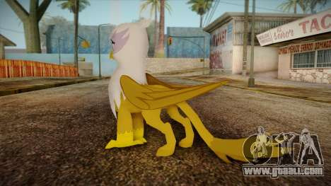 Gilda from My Little Pony for GTA San Andreas second screenshot