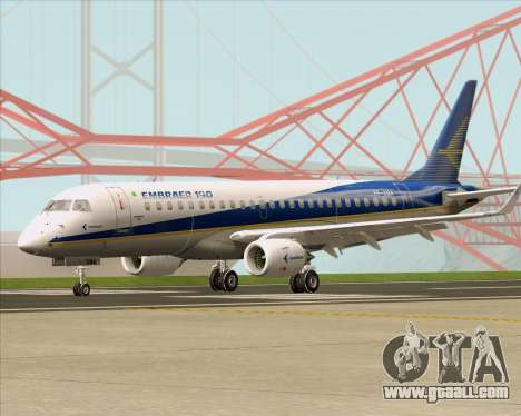 Embraer E-190-200LR House Livery for GTA San Andreas left view