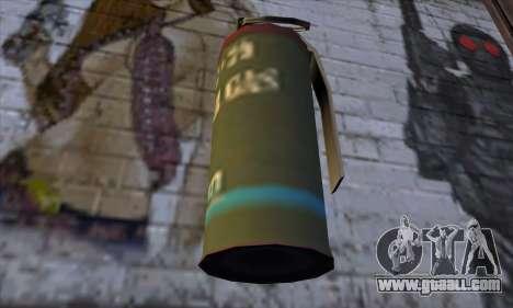 Smoke Grenade from GTA 5 for GTA San Andreas third screenshot
