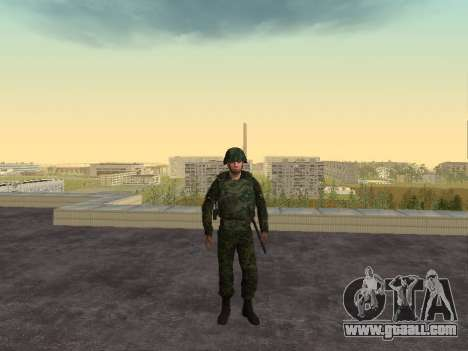 Soldiers of the MIA of the Russian Federation for GTA San Andreas