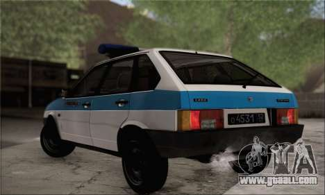 VAZ 2109 PPP for GTA San Andreas left view