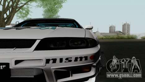 Nissan Skyline GT-R33 for GTA San Andreas right view