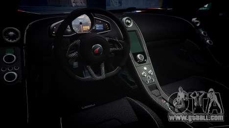 McLaren 650S Spider 2014 [EPM] v2.0 UK for GTA 4 inner view