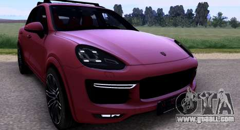 Porsche Cayenne Turbo S GTS 2015 for GTA San Andreas