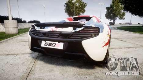 McLaren 650S Spider 2014 [EPM] v2.0 UK for GTA 4 back left view