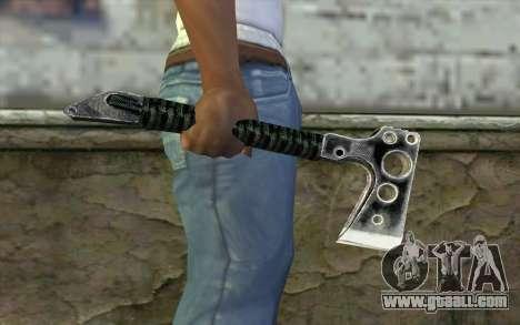 Топор (Call of Duty Black Ops) for GTA San Andreas third screenshot